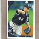2010 Topps Baseball Jake Peavy White Sox #501