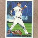 2010 Topps Baseball Jordan Schafer Braves #522
