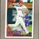 2010 Topps Baseball Brandon Wood Angels #527