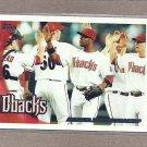 2010 Topps Baseball D-backs Team Card #539
