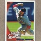 2010 Topps Baseball Jason Motte Cardinals #541