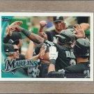 2010 Topps Baseball Marlins Team Card #553