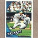 2010 Topps Baseball Aaron Hill Blue Jays #557