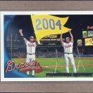 2010 Topps Baseball Braves History #604