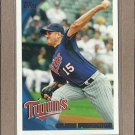 2010 Topps Baseball Glen Perkins Twins #626