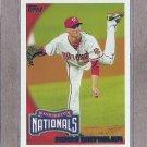 2010 Topps Baseball Ross Detwiler Nationals #628