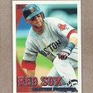 2010 Topps Baseball Dustin Pedroia Red Sox #650