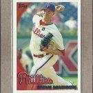 2010 Topps Baseball Ryan Madson Phillies #655