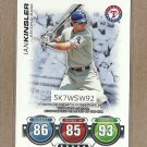 2010 Topps Baseball Attax Ian Kinsler