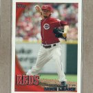 2010 Topps Baseball Mike Leake MLB Debut #US-317