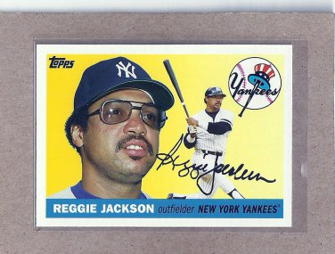 2010 Topps Baseball Vintage Legends Reggie Jackson #VLC3