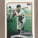 2010 Topps Baseball Vintage Legends Mel Ott #VLC14