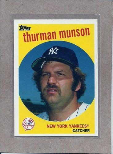 2010 Topps Baseball Vintage Legends Thurman Munson #VLC16