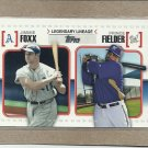 2010 Topps Baseball Legendary Lineage Foxx and Fielder #LL41