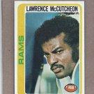 1978 Topps Football Lawrence McCutcheon Rams #45