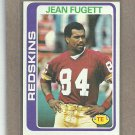 1978 Topps Football Jean Fugett Redskins #175