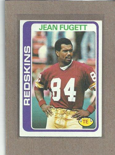 1978 Topps Football Jean Fugett Redskins #175