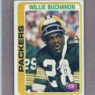 1978 Topps Football Willie Buchanon Packers #198