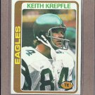 1978 Topps Football Keith Krepfle Eagles #215