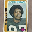 1978 Topps Football Larry Brown Steelers #234