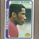 1978 Topps Football Danny Buggs Redskins #297