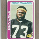 1978 Topps Football Eddie Edwards Bengals #374