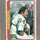 1978 Topps Football George Buehler Raiders #392