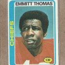 1978 Topps Football Emmitt Thomas Chiefs #426