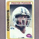 1978 Topps Football Preston Pearson Cowboys #445