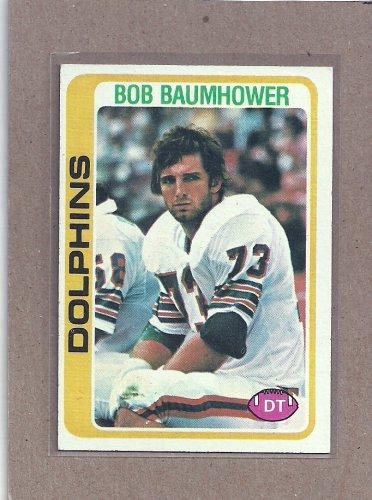 1978 Topps Football Bob Baumhower Dolphins #466