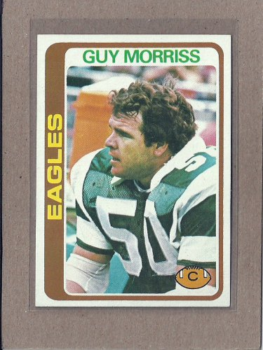 1978 Topps Football Guy Morriss Eagles #468