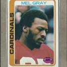 1978 Topps Football Mel Gray Cardinals #486
