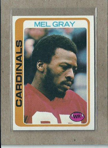 1978 Topps Football Mel Gray Cardinals #486