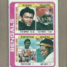 1978 Topps Football Bengals Team Card #505