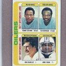 1978 Topps Football Oilers Team Card #511