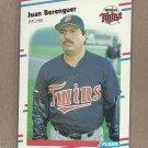 1988 Fleer Baseball Juan Berenguer Twins #3