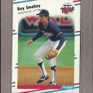 1988 Fleer Baseball Roy Smalley Twins #22