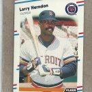 1988 Fleer Baseball Larry Herndon Tigers #59