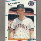 1988 Fleer Baseball Jeff Robinson Tigers #68