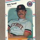 1988 Fleer Baseball Walt Terrell Tigers #72