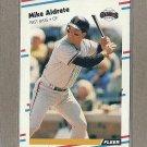 1988 Fleer Baseball Mike Aldrete Giants #76