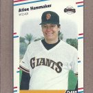 1988 Fleer Baseball Atlee Hammaker Giants #83