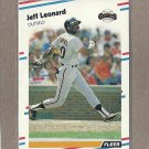 1988 Fleer Baseball Jeff Leonard Giants #88