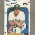 1988 Fleer Baseball Kevin Mitchell Giants #92