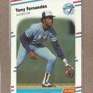 1988 Fleer Baseball Tony Fernandez Blue Jays #109