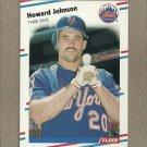 1988 Fleer Baseball Howard Johnson Mets #138