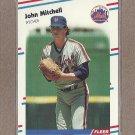 1988 Fleer Baseball John Mitchell Mets #145