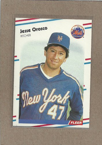 1988 Fleer Baseball Jesse Orosco Mets #148