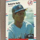 1988 Fleer Baseball Roberto Kelly RC Yankees #212