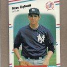 1988 Fleer Baseball Dave Righetti Yankees #220
